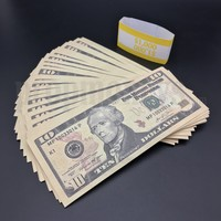 100x $10 Bills - $1,000 New Style Prop Money