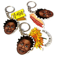 Crazy Eyes Keychain