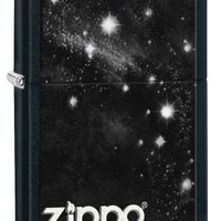 Zippo Night Sky Black Matte Lighter
