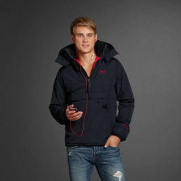 Mens Popover | Mens A&f Weather Warrior | Abercrombie.com