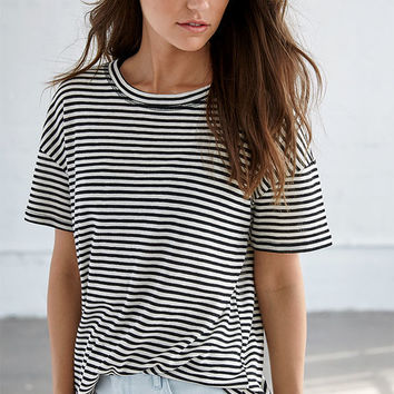 Me To We Storyteller Striped T-Shirt at PacSun.com
