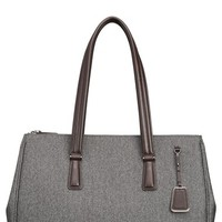 Women's Tumi 'Sinclair - Large Ana' Double Zip Coated Canvas Tote
