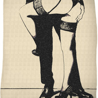 Master will protect you kinky fleece throw blanket, sexy submissive girl in lingerie