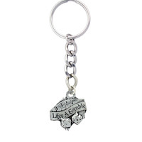 Life's A Gamble Keychain
