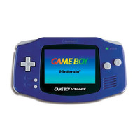 Game Boy Advance System (Indigo / Purple) (Pre-owned)