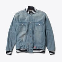 Heavyweight Denim Jacket in Light Wash