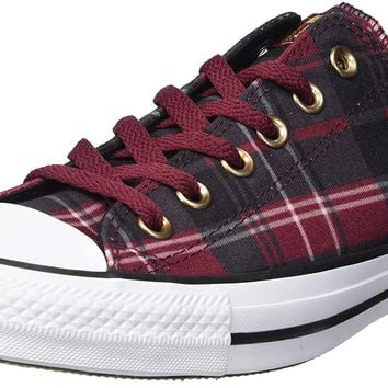 Converse Women's Chuck Taylor All Star Plaid Low Top Sneaker