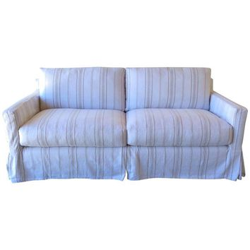 Pre-owned Classic Track Arm Slipcover Sofa