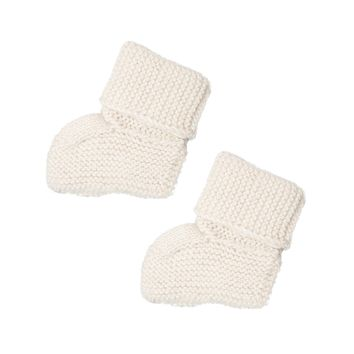 Solid Knit Alpaca Booties