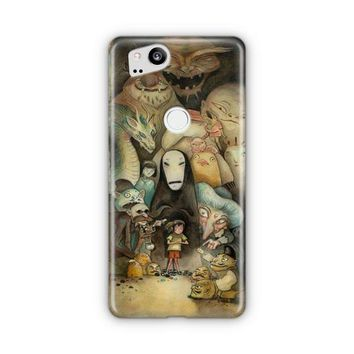 Ghibli Away Google Pixel 3 XL Case | Casefantasy