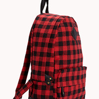 Forever Cool Plaid Backpack