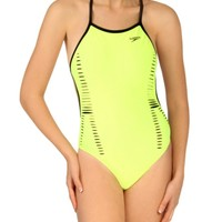 Speedo Limited Edition Flipturns Laser Cut Extreme Back at SwimOutlet.com - Free Shipping