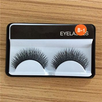 1 pair false eyelashes, Gala stage makeup professional hot fake eyelashes eye lashes