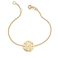 Kiyla Monogram Bracelet (Ships In 5 Weeks)