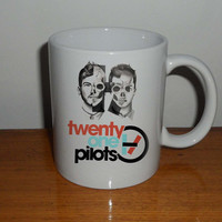 twenty one pilots 2,  Coffee Mug, Tea Mug, Mug for Gift,mug coffee, mug tea, size 8,2 x 9,5 cm