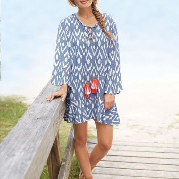 Tenley Tassel Coverup/Dress