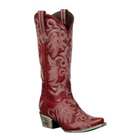 Lane Boots - Wild Ginger Red