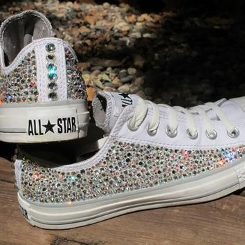 Swarovski Crystal Converse All Stars (Including the shoes: Read Description)