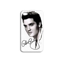 Black White Elvis Presley Cute Music Phone Case iPhone iPod Black White 60s 50s