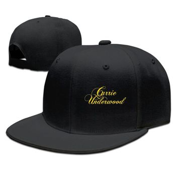 Cool Carrie Underwood Gloden Logo Funny Unisex Adult Womens Baseball Cap Mens Hip-hop Hats