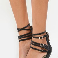 Liliana Gianni-3 Textured D'orsay Pumps