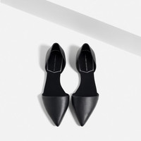 FLAT D'ORSAY SHOES