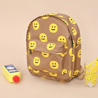 Tyakasha Park Smiley Face Small Backpack