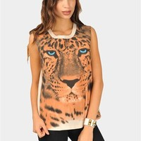 Rawring Muscle Tee - Brown at Necessary Clothing