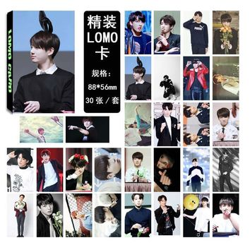 KPOP BTS Bangtan Boys Army   Boys LOMO Cards Fashion Paper Photo Card HD Paper Photocard Idol Poster   Fans Gift Collection 30pcs/set AT_89_10