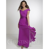 Christina Wu Occasions 22534 Off The Shoulder Bridesmaid Dress