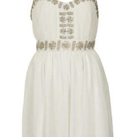 Embellished Strap Dress - Dresses - Clothing - Topshop USA