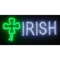 Irish LED Sign