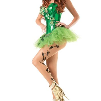 BW1431C 2 Piece Sexy Ivy Costume - Be Wicked