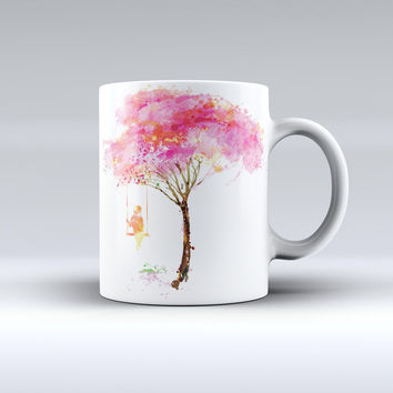 The Summer Swing ink-Fuzed Ceramic Coffee Mug