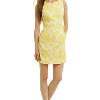 Diane von Furstenberg Lemon Meringue Sheath