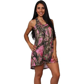 Women's Camo Flare Dress Authentic True Timber Apparel Made in the USA