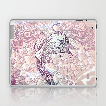 koi fish Laptop & iPad Skin by printapix