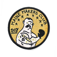 Maine Makers Club Patch