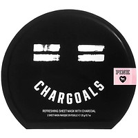 Victoria's Secret Pink CHARGOALS Refreshing Sheet MASK with Charcoal