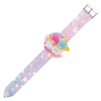 Buy Sanrio Little Twin Stars Moon Die-Cut LED Character Face Wrist Watch at ARTBOX