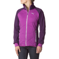 Puma Ecosphere Red Thread Eco Insulated Jacket - Women's Blackberry Cordial,