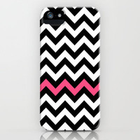 Classic Chevron #5 iPhone & iPod Case by Ornaart