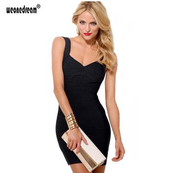Sexy Club Dresses 2017 Bodycon Sheath Dress Mini Above Knee Backless Bandage Party Prom Dress Short Cocktail Dress Plus Size