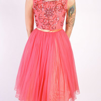 1960s Dress // vintage 60s // To the Ballet Dress