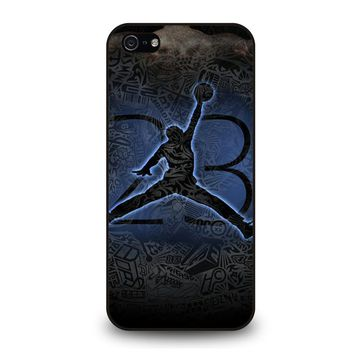 MICHAEL JORDAN AIR JORDAN ART iPhone 5 / 5S / SE Case