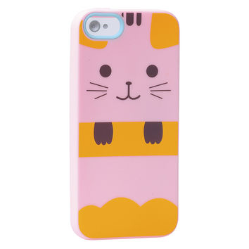 Cat Silicone iPhone 5 Cover