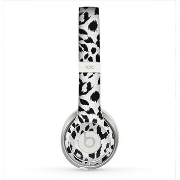 The Vector Leopard Animal Print Skin for the Beats by Dre Solo 2 Headphones