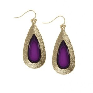 Such a Gem Earrings in Amethyst