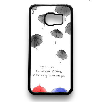 disney pixars the blue umbrella 2 Samsung Galaxy S6 & S6 Edge Case Xavanza