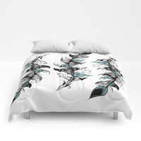 Poetic Feather Comforters by LouJah